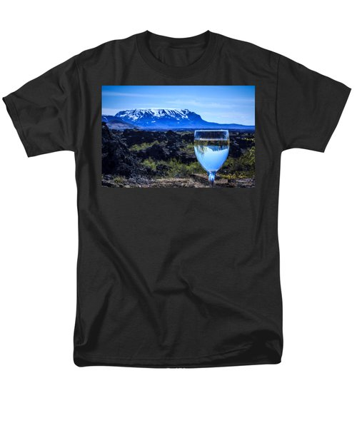 Cheers To Iceland Men's T-Shirt  (Regular Fit) by Peta Thames