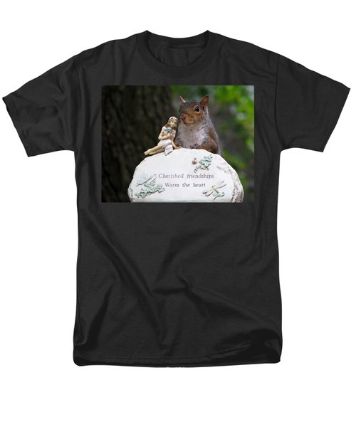 Men's T-Shirt  (Regular Fit) featuring the photograph Cherished Friendships by John Haldane