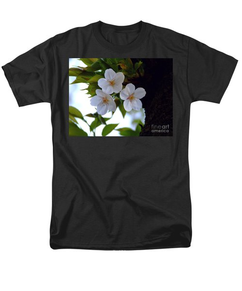 Cherry Blossom Men's T-Shirt  (Regular Fit) by Andrea Anderegg