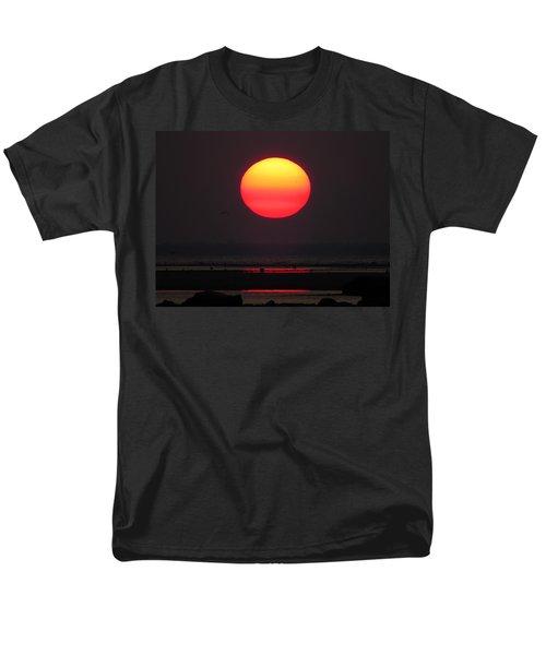 Men's T-Shirt  (Regular Fit) featuring the photograph Cherry Drop Sunrise by Dianne Cowen
