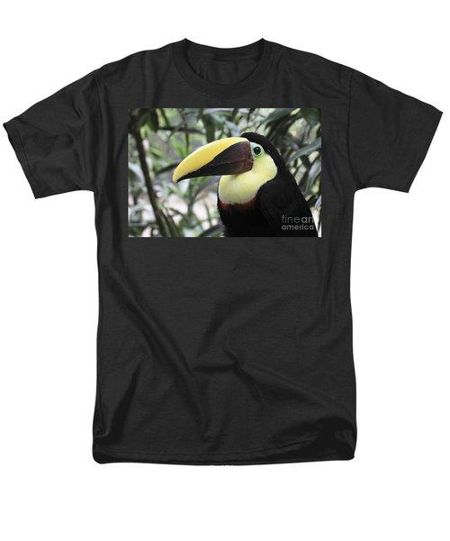 Men's T-Shirt  (Regular Fit) featuring the photograph Chestnut-mandibled Toucan by Teresa Zieba
