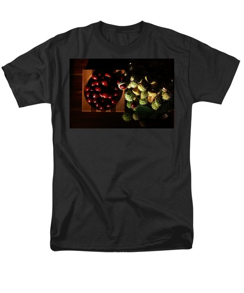 Men's T-Shirt  (Regular Fit) featuring the photograph Chestnuts by David Andersen