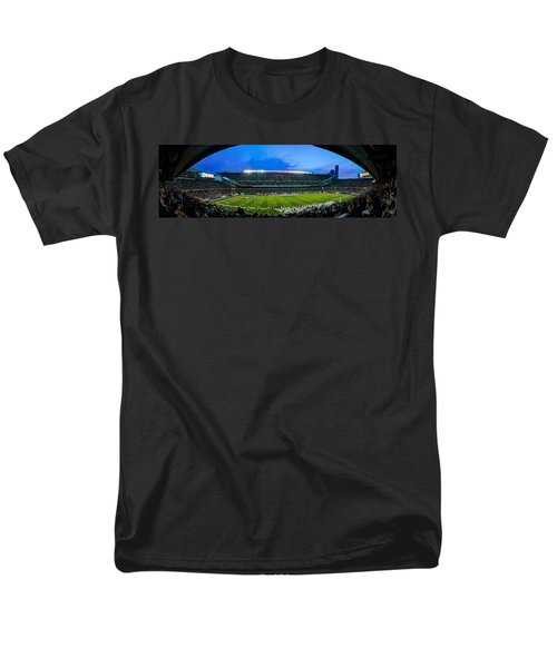 Chicago Bears At Soldier Field Men's T-Shirt  (Regular Fit) by Steve Gadomski