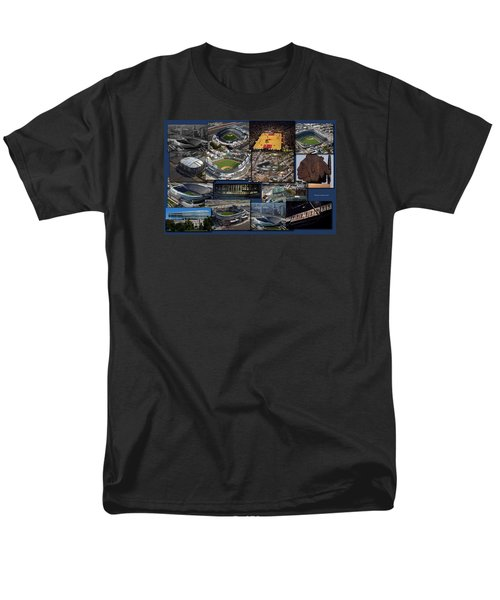 Chicago Sports Collage Men's T-Shirt  (Regular Fit) by Thomas Woolworth