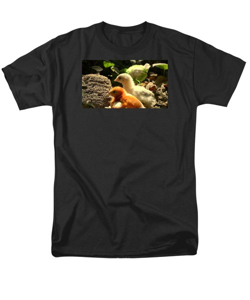Men's T-Shirt  (Regular Fit) featuring the photograph Cute Chicks by Salman Ravish