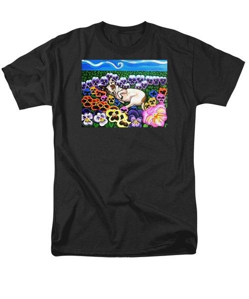 Chihuahua In Flowers Men's T-Shirt  (Regular Fit)