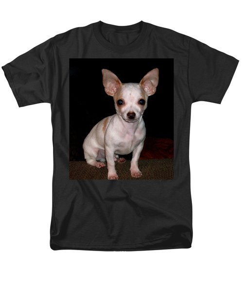 Chihuahua Puppy Men's T-Shirt  (Regular Fit) by Maria Urso