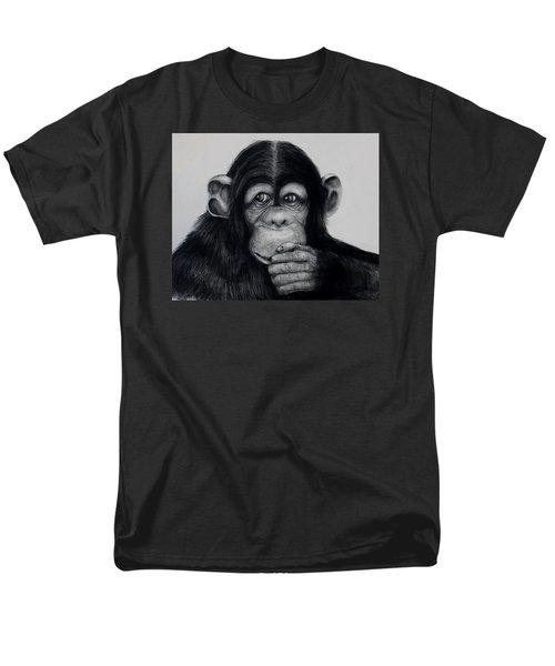 Chimp Men's T-Shirt  (Regular Fit) by Jean Cormier