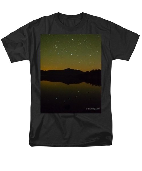 Chocorua Stars Men's T-Shirt  (Regular Fit) by Brenda Jacobs