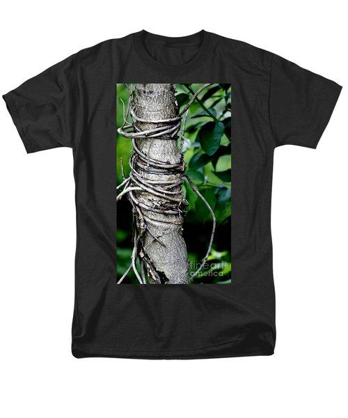 Men's T-Shirt  (Regular Fit) featuring the photograph Choke by Lilliana Mendez