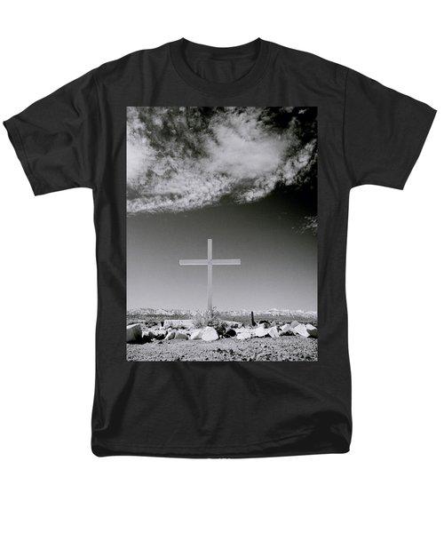 Christian Grave Men's T-Shirt  (Regular Fit) by Shaun Higson