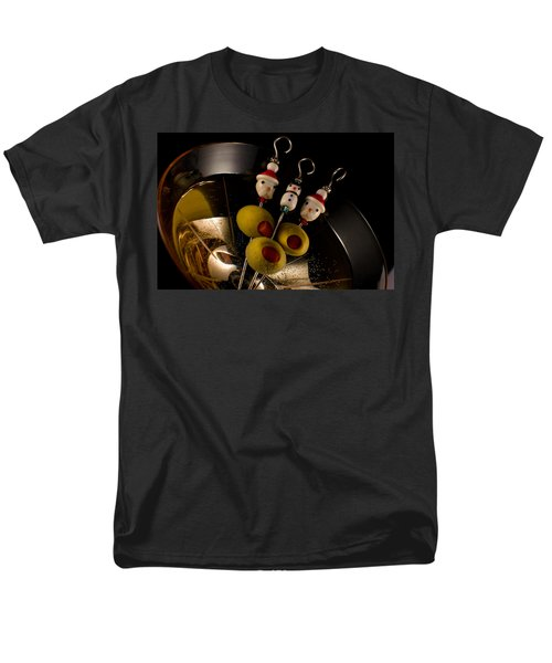 Christmas Crowded Martini Men's T-Shirt  (Regular Fit) by Ron White