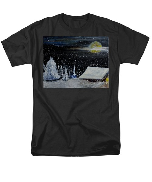 Christmas Eve Men's T-Shirt  (Regular Fit) by Dick Bourgault