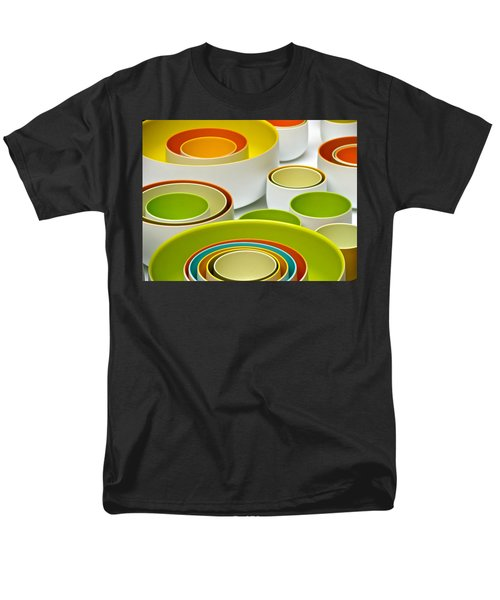 Men's T-Shirt  (Regular Fit) featuring the photograph Circles Squared by Ira Shander