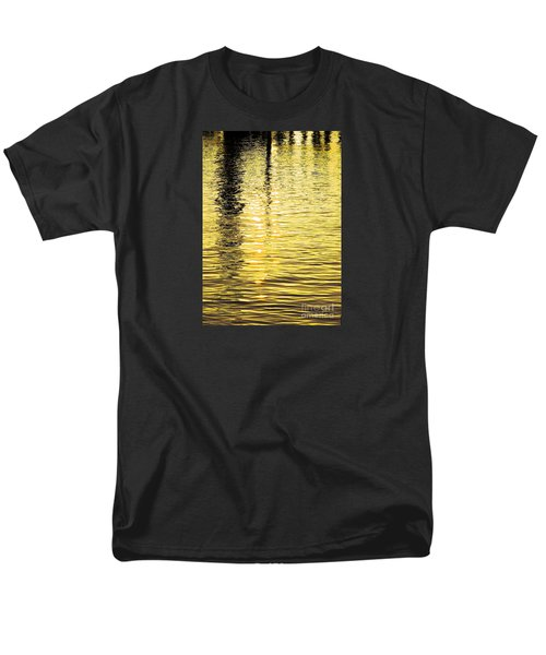 Citrine Ripples Men's T-Shirt  (Regular Fit) by Chris Anderson