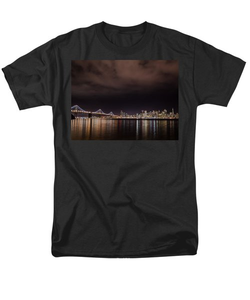 City By The Bay Men's T-Shirt  (Regular Fit) by Linda Villers