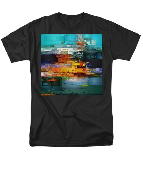 City Of Color 1 Men's T-Shirt  (Regular Fit) by David Hansen