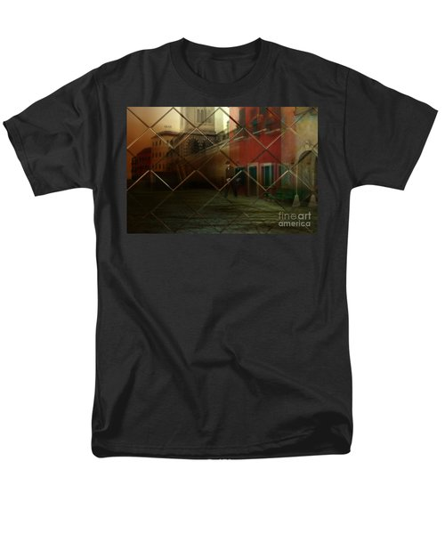 City Street Men's T-Shirt  (Regular Fit) by Liane Wright