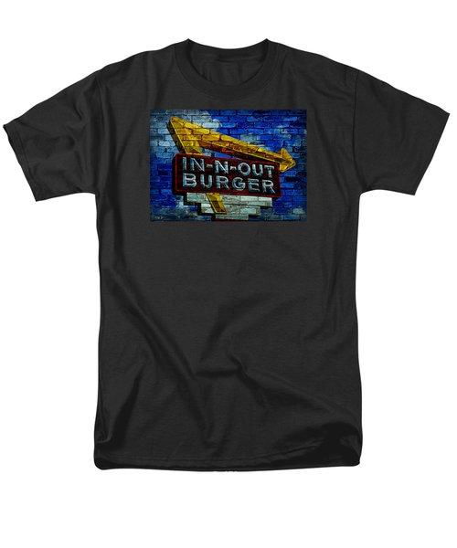 Classic Cali Burger 2.4 Men's T-Shirt  (Regular Fit) by Stephen Stookey
