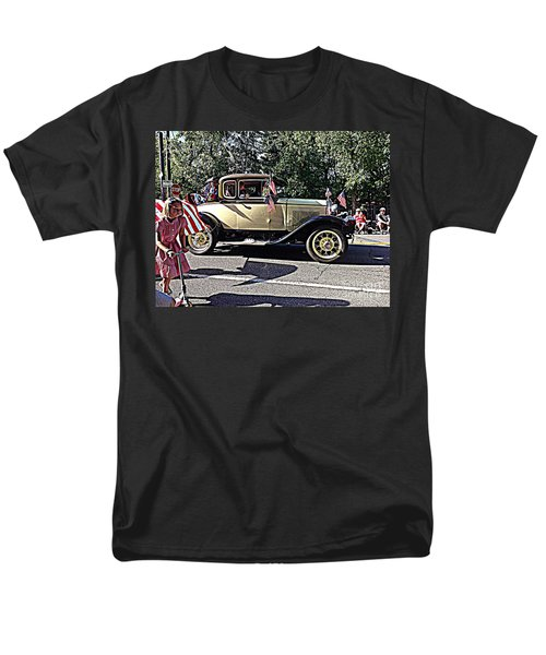 Classic Children's Parade Classic Car East Millcreek Utah 1 Men's T-Shirt  (Regular Fit) by Richard W Linford