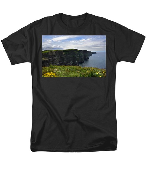 Cliffs Of Moher Looking South Men's T-Shirt  (Regular Fit) by RicardMN Photography