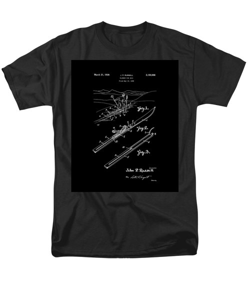 Climber For Skis 1939 Russell Patent Art Men's T-Shirt  (Regular Fit) by Lesa Fine
