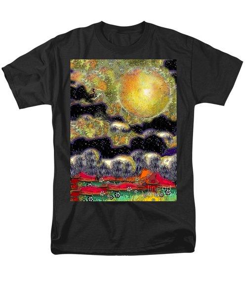 Clonescape Moon Men's T-Shirt  (Regular Fit) by Carol Jacobs