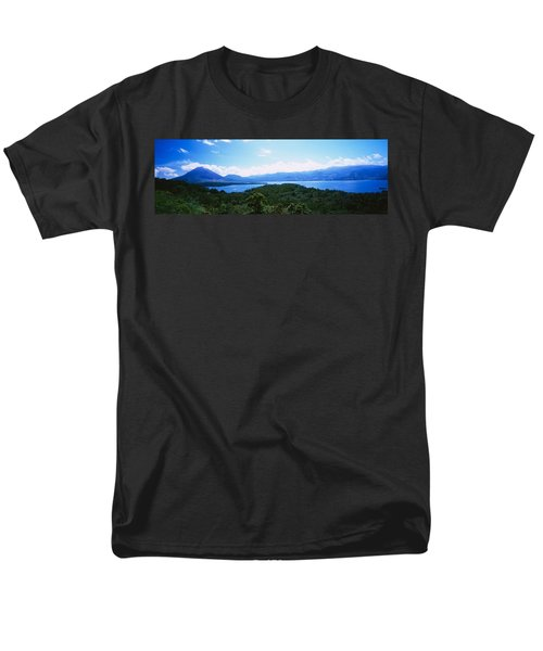Clouds Over A Volcano, Arenal Volcano Men's T-Shirt  (Regular Fit) by Panoramic Images