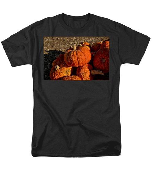 Men's T-Shirt  (Regular Fit) featuring the photograph Knarly Pumpkin by Michael Gordon