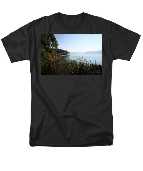 Men's T-Shirt  (Regular Fit) featuring the photograph Coast by Tracey Harrington-Simpson