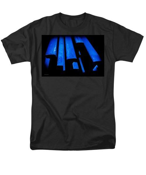 Cold Blue Steel Men's T-Shirt  (Regular Fit)