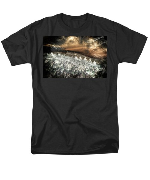 Cold Mountain Men's T-Shirt  (Regular Fit) by Tom Culver