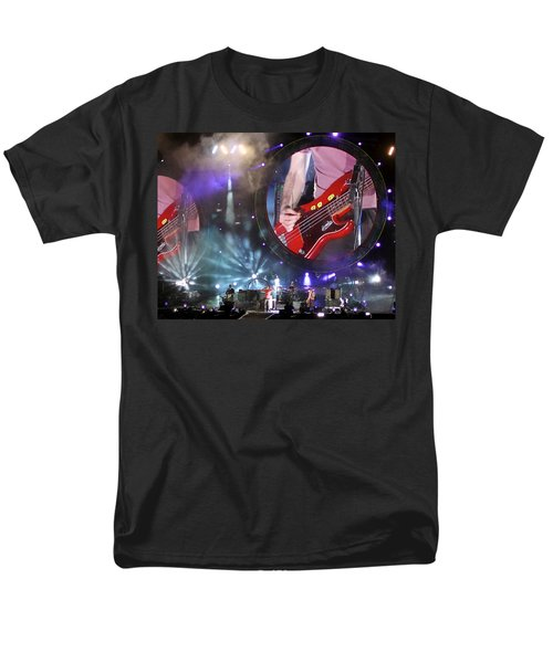 Coldplay - Sydney 2012 Men's T-Shirt  (Regular Fit) by Chris Cousins