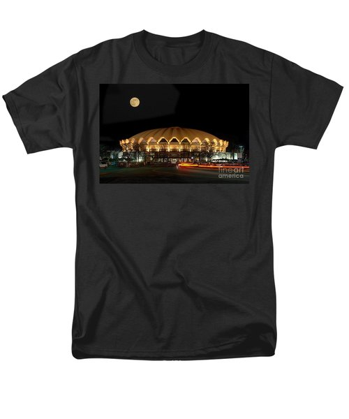Coliseum Night With Full Moon Men's T-Shirt  (Regular Fit) by Dan Friend