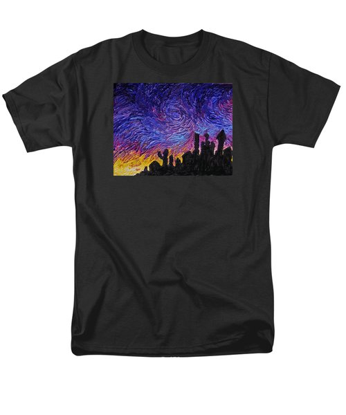 Color Of The Sky Part1 Men's T-Shirt  (Regular Fit) by Felix Concepcion