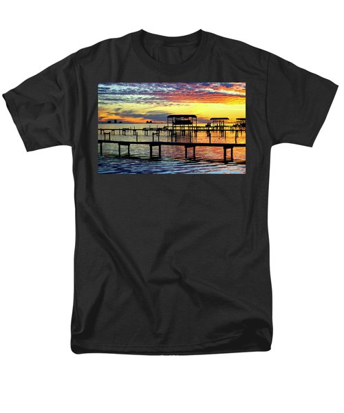 Men's T-Shirt  (Regular Fit) featuring the photograph Colored Glass by Faith Williams