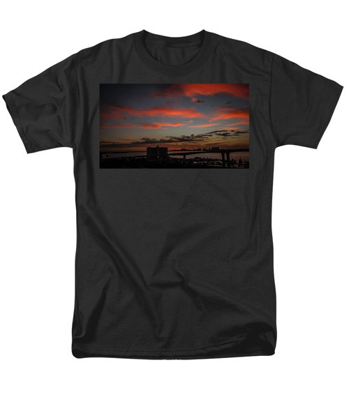 Men's T-Shirt  (Regular Fit) featuring the photograph Colorful Sunset by Jane Luxton