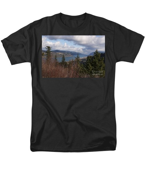 Men's T-Shirt  (Regular Fit) featuring the photograph Columbia Gorge by Belinda Greb