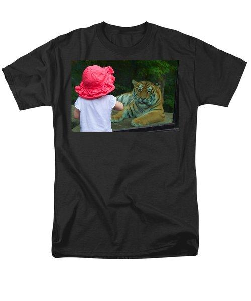 Come A Little Closer Men's T-Shirt  (Regular Fit) by Dave Files
