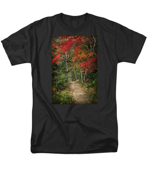 Men's T-Shirt  (Regular Fit) featuring the photograph Come Walk With Me by Priscilla Burgers