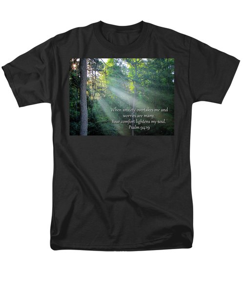 Men's T-Shirt  (Regular Fit) featuring the photograph Comfort by Greg Simmons