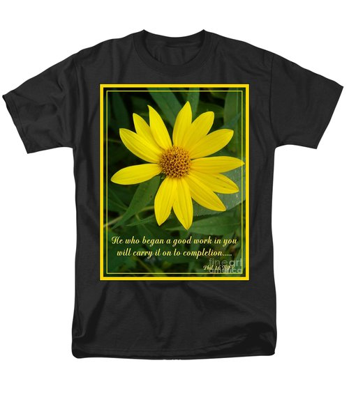 Completion Men's T-Shirt  (Regular Fit) by Sara  Raber