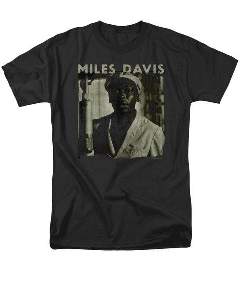 Concord Music - Miles Portrait Men's T-Shirt  (Regular Fit) by Brand A