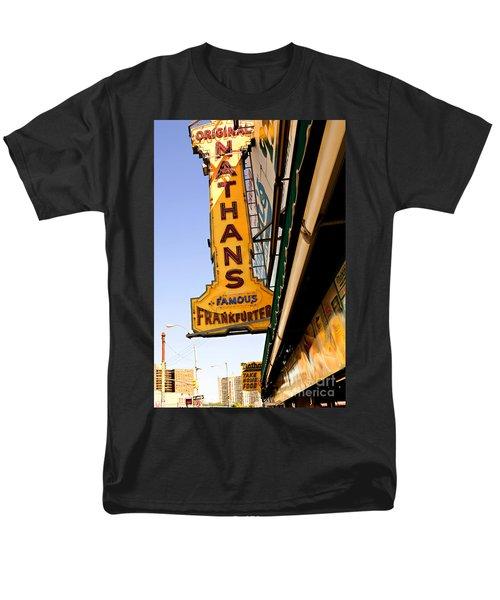 Coney Island Memories 1 Men's T-Shirt  (Regular Fit) by Madeline Ellis