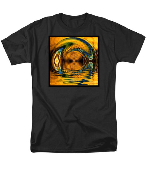Confusion Of Distortion  Men's T-Shirt  (Regular Fit) by Elizabeth McTaggart