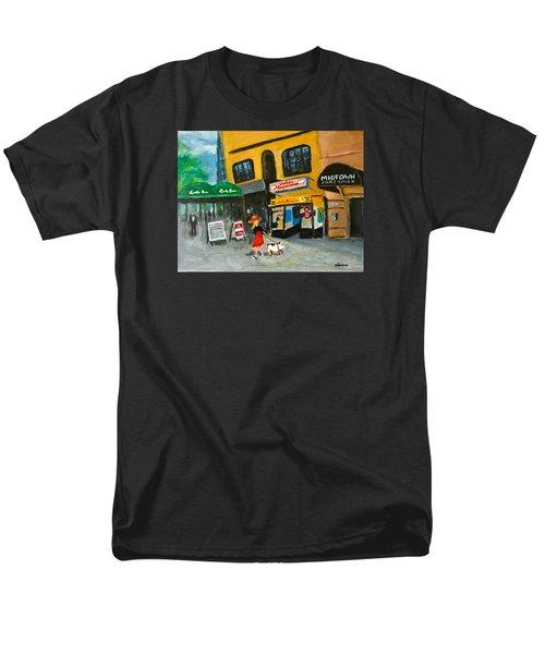 Connecticut Avenue Dc Men's T-Shirt  (Regular Fit) by Victoria Lakes