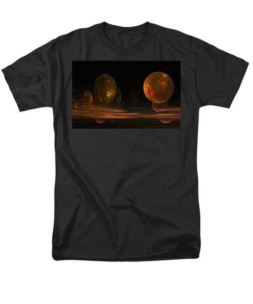 Men's T-Shirt  (Regular Fit) featuring the digital art Consumed From Within by GJ Blackman