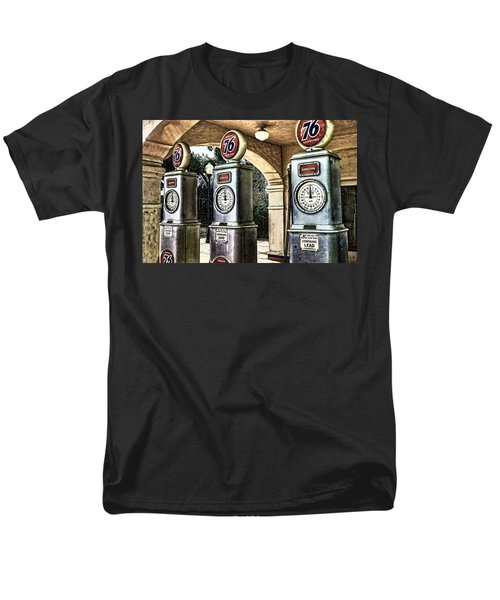 Men's T-Shirt  (Regular Fit) featuring the painting Contains Lead by Muhie Kanawati