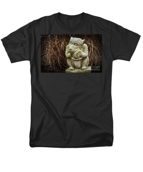 Contemplating Autumn Men's T-Shirt  (Regular Fit) by Mary Machare