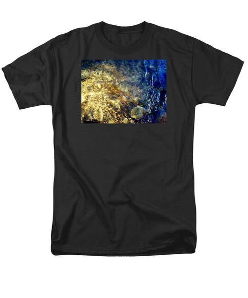 Men's T-Shirt  (Regular Fit) featuring the photograph Cool Waters...of The Rifle River by Daniel Thompson